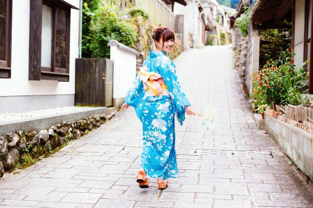 浴衣で歩きたい秘窯の里 大川内山|佐賀県伊万里市